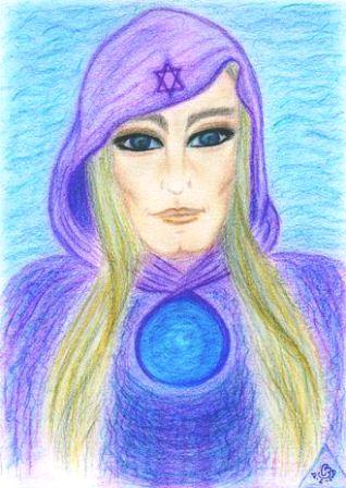 Spirit Guide Drawing by Carla Bastos ©